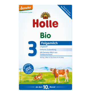 HOLLE Bio Folgemilch 3 600g