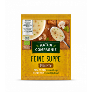 NATUR COMPAGNIE Pilzcreme Suppe 1/2l