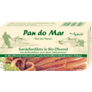 PAN DO MAR Sardellenfilets in Olivenöl 50g
